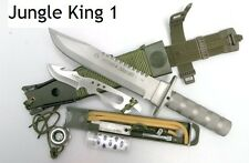 PISAU JUNGLE KING 1 Knife White outdoor hunting