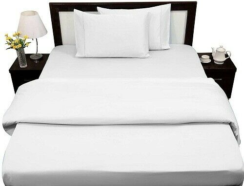 4 Pcs sheet set 700 TC Egyptian Cotton White Solid All Size and Deep pocket