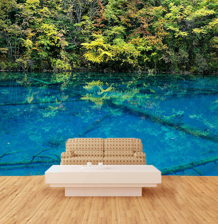3D Tropisch Tropisch Tropisch Strauch Fluss 87 Tapete Wandgemälde Tapete Tapeten Bild Familie DE | Verschiedene Waren  |  366f53