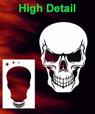 air brush stencil skull 28 outline extras template airbrush skulls