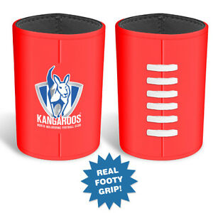 North-Melbourne-Kangaroos-AFL-3D-Ball-Stubby-Can-Cooler