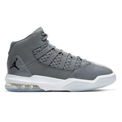 Scarpe tipo basket ragazzi NIKE Jordan Max Aura GS pelle grigio AQ9214 010 | eBay
