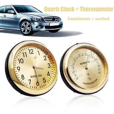 Luminous Car Mechanics Quartz Clock Digital Pointer for Auto Time UK