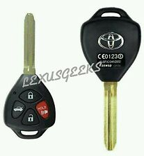 NEW Toyota Matrix RAV4 Corolla Camry New 4 Button Remote Key Shell Case Fob