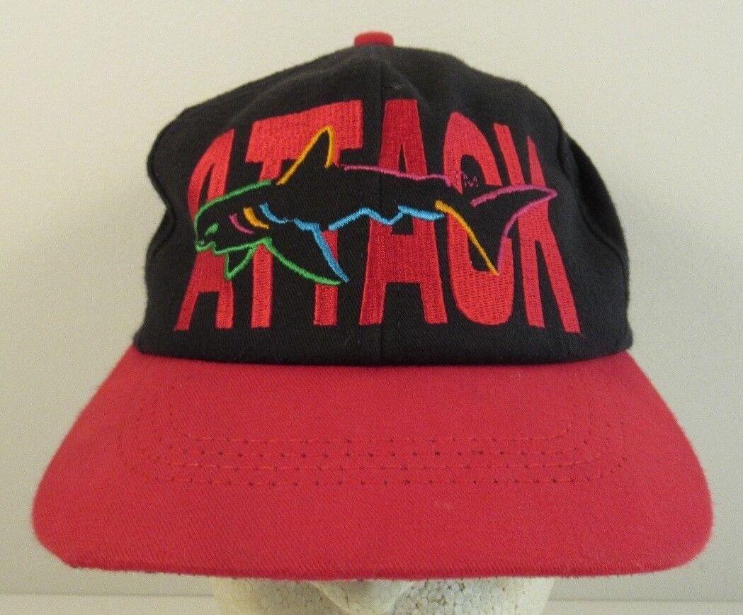 Greg Norman Shark Attack Cap Hat Cap Attack Adjustable 187a59