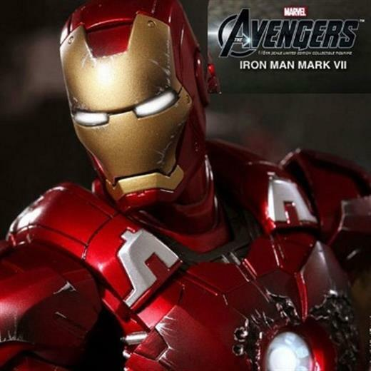 AVENGERS IRONMAN IRONMAN IRONMAN IRON MAN MARK VII 7 HOTTOYS HOT TOYS ACTION FIGURE CR AQ3560 fd8900