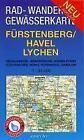 Fürstenberg/Havel, Lychen 1 : 35 000 Rad-, Wander- und Gewässerkarte (2013, Mappe)