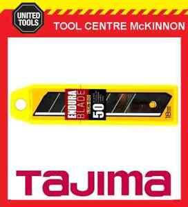 50-x-TAJIMA-ENDURA-18mm-SNAP-OFF-UTILITY-KNIFE-BLADES-LCB50-50