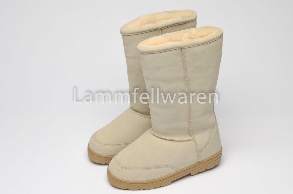 Lammfell -Stiefel - aus Boots - Stiefel fallen klein aus - ...Größentabelle beachten 32fba8