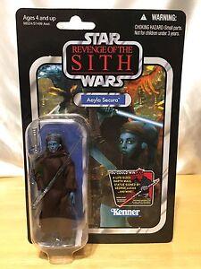 Vengeance de la collection Vintage Sith de Star Wars - Aayla Secura Figure 653569731979