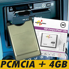 Honda CR-Z 4GB PCMCIA CF Multi Card Reader KIT PC Card/Slot/Schacht Comand APS