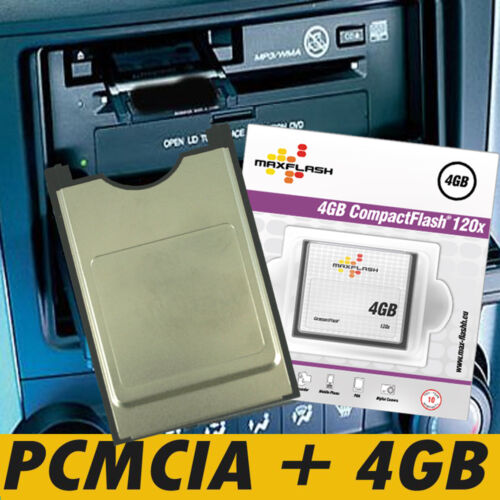 Honda Civic 4gb PCMCIA CF multi Card Reader kit PC Card//slot//bandeja Comand APS