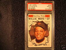 1961 Topps Willie Mays #579 Baseball Card
