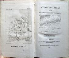 1809 – ANNALES DU MUSÉE ET DE L'ÉCOLE MODERNE DES BEAUX-ARTS TOME COMPLÉMENTAIRE