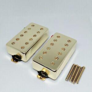 Gold-LP-Les-Paul-Electric-Guitar-Pickup-Humbucker-Set-of-2-Magnet-Ceramic-Pickup
