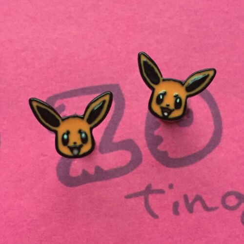 Pokemon Aretes pequeña de metal