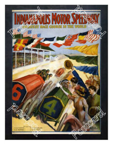 Historic-The-Indianapolis-Motor-Speedway-1909-Advertising-Postcard