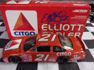 Elliott-Sadler-21-Citgo-2000-Taurus-1-24-scale-car-Action-NASCAR-10618