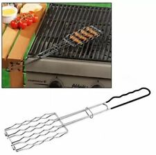 BBQ Grill Salsiccia in acciaio inox alimentare titolare Da Cucina Servire BARBECUE