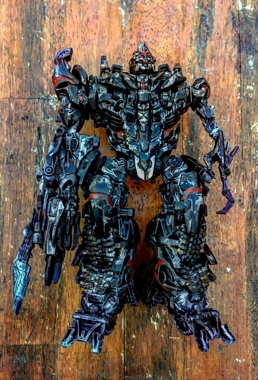 Transformers ROTF Shadow Command Megatron Custom Leader Concept