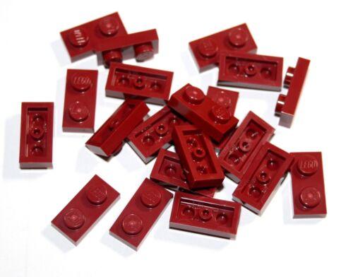 20x LEGO® Platte 1x2 3023 NEU Dunkel Rot Dark Red