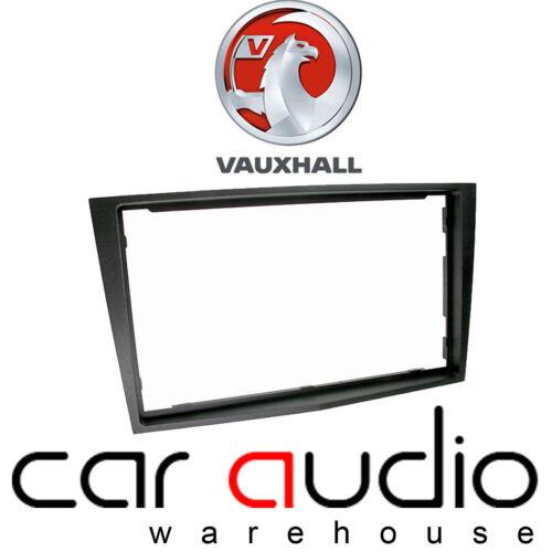 CT24VX22 Vauxhall Corsa D 2006 On Car Stereo Radio Double Din Fascia Facia Panel