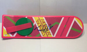 MICHAEL-J-FOX-SIGNED-AUTOGRAPHED-HOVERBOARD-BACK-TO-THE-FUTURE-BTTF-PSA-DNA-LOA