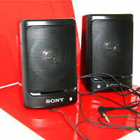 JAPANESE SONY CORPORATION SRS-9 SPEAKER SYSTEM MADE IN JAPAN