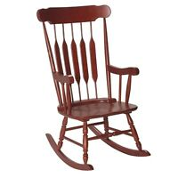 GiftMark Adult Rocking Chair - Cherry 3800C Furniture