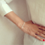 1Pcs-White-Pearl-Beads-Bangle-Gold-Plated-Chain-For-Women-Bracelet-Jewelry-Gift thumbnail 3