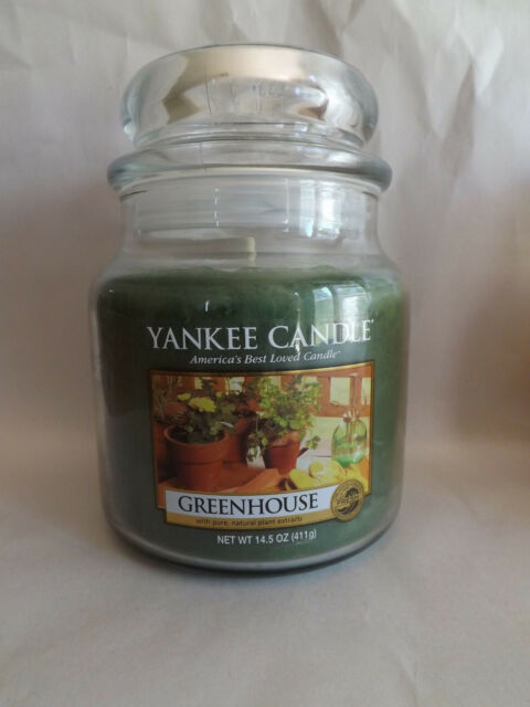 Yankee Candle Greenhouse, Fresh Scent
