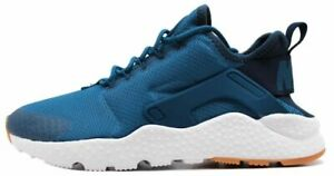 6577e06f31b97 NIKE WOMEN S AIR HUARACHE RUN ULTRA SHOES industrial blue navy ...