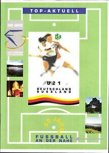 19.08.1997 Allemagne-Russie u21 à Idar-Oberstein
