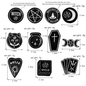 Witches-Black-Moon-Coffin-Shabab-Spells-Brooches-Badges-For-Lapel-Enamel-Pin