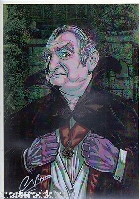 LILY MUNSTER Full Color Fine Art PRINT HAND SIGNED Michael Champion MUNSTERS