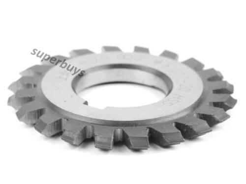 M0.5 No.3 20 Degree HSS Involute Module Gear Cutter Rack Milling Lathe Machine