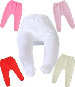 BABY GIRL BABIES TIGHTS IVORY PINK WHITE PREM BABY PREMATURE SMALL TINY newborn