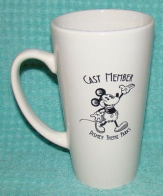 New Disney Cast Member Tall Mug or Cup - Theme Parks