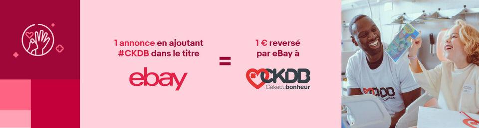 Je vends avec le #CKDB - Vendez et faites une bonne action !