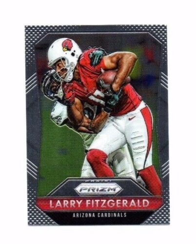 Larry Fitzgerald 2015 Panini Prizm Football Card !!
