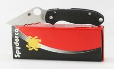 Spyderco Paramilitary 3 Knife G10 Handle CPM S30V Part Serrated Edge C223GPS