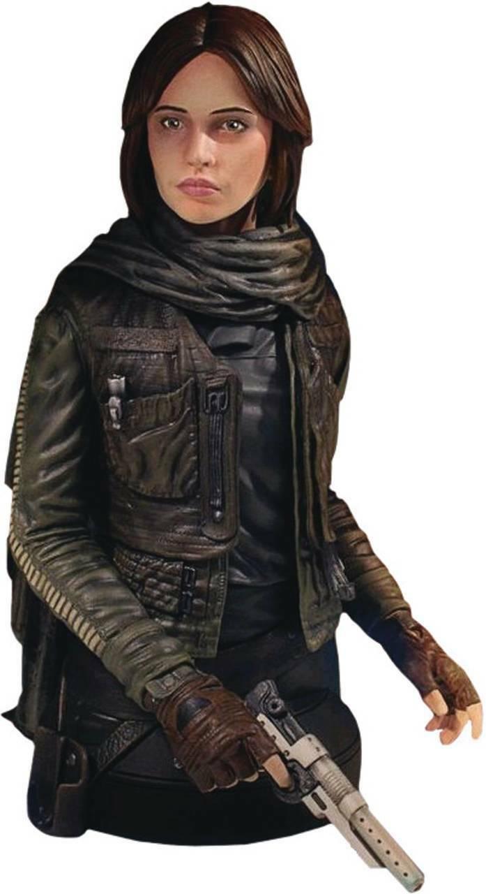 Star Wars Rogue One Bust 1 6 Jyn Erso Seal Commander