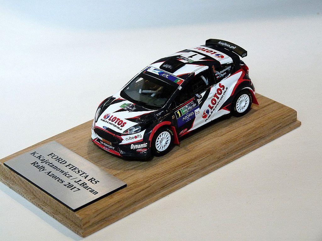 Kajetanowicz Ford Fiesta R5 Rally Azores 2017  1 43 rally model
