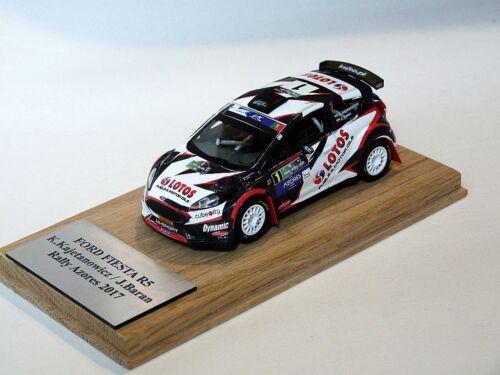 Kajetanowicz Ford Fiesta R5 Rally Azores 2017  1:43 rally model