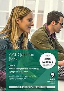 Aat advanced diploma in accounting level 3 synoptic assessment stock photo fandeluxe Images