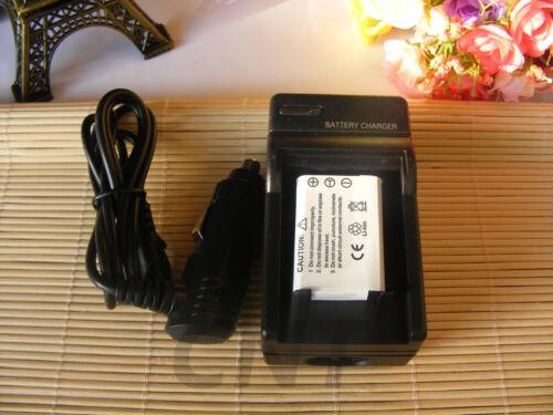 Cargador para Nikon Coolpix S550 S560-EN-EL11//Olympus FE-370 Li-60B Batería