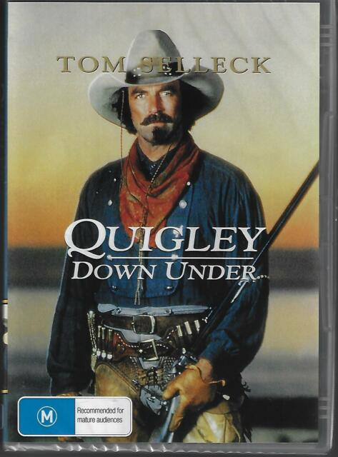 23c6c89cd4c4a Quigley Down Under DVD Starring Tom Selleck   Post for sale online ...