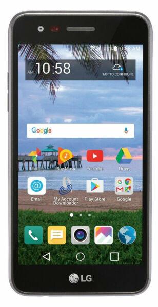 LG L58VL - 8GB - Black (TracFone) Smartphone