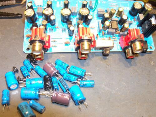 NAD PP 2 3 Phono MC MM Preamplifier Lehmann Black Cube Repair Restoration Servic