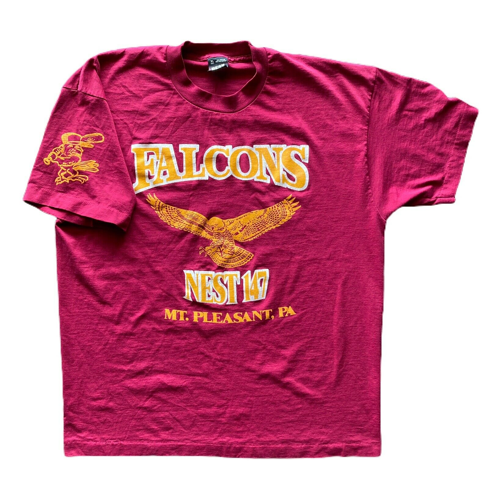 VTG Polish Falcons Club Nest 147 Size XL Mt. Plea… - image 1